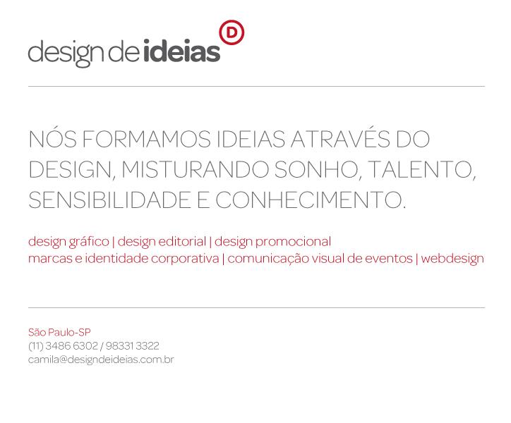 Design de Ideias | (11) 3486-6302 / (11) 98331-3322 / (12) 8852-3162